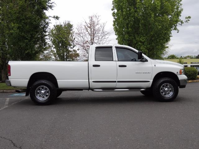 2004 Dodge Ram 2500 SLT 4dr  / 4X4 / 5.9L CUMMINS DIESEL / 1-OWNER - Photo 4 - Portland, OR 97217