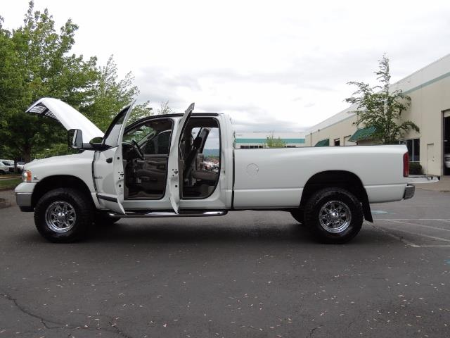 2004 Dodge Ram 2500 SLT 4dr  / 4X4 / 5.9L CUMMINS DIESEL / 1-OWNER - Photo 26 - Portland, OR 97217