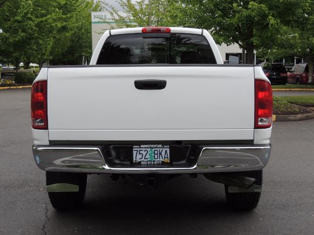 2004 Dodge Ram 2500 SLT 4dr  / 4X4 / 5.9L CUMMINS DIESEL / 1-OWNER - Photo 6 - Portland, OR 97217