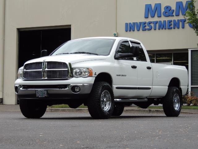 2004 Dodge Ram 2500 SLT 4dr  / 4X4 / 5.9L CUMMINS DIESEL / 1-OWNER - Photo 37 - Portland, OR 97217