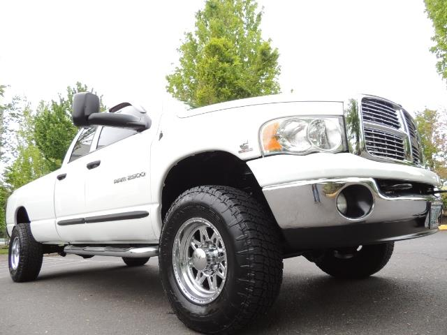 2004 Dodge Ram 2500 SLT 4dr  / 4X4 / 5.9L CUMMINS DIESEL / 1-OWNER - Photo 10 - Portland, OR 97217