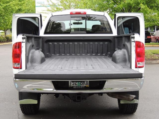 2004 Dodge Ram 2500 SLT 4dr  / 4X4 / 5.9L CUMMINS DIESEL / 1-OWNER - Photo 21 - Portland, OR 97217