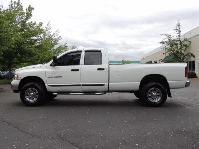 2004 Dodge Ram 2500 SLT 4dr  / 4X4 / 5.9L CUMMINS DIESEL / 1-OWNER - Photo 3 - Portland, OR 97217