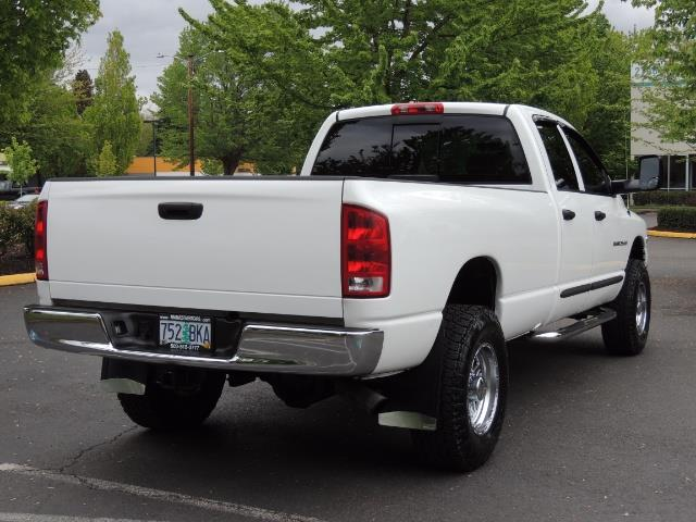 2004 Dodge Ram 2500 SLT 4dr  / 4X4 / 5.9L CUMMINS DIESEL / 1-OWNER - Photo 8 - Portland, OR 97217