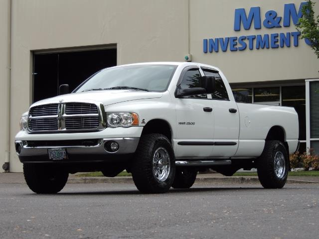 2004 Dodge Ram 2500 SLT 4dr  / 4X4 / 5.9L CUMMINS DIESEL / 1-OWNER - Photo 39 - Portland, OR 97217