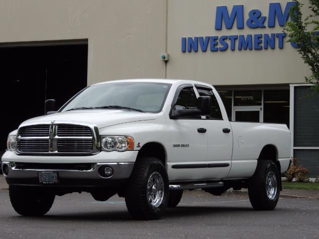 2004 Dodge Ram 2500 SLT 4dr  / 4X4 / 5.9L CUMMINS DIESEL / 1-OWNER - Photo 44 - Portland, OR 97217