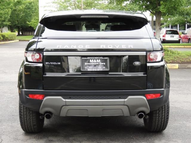2013 Land Rover Evoque Pure / AWD / Navigation / backup camera / 1-Owner - Photo 6 - Portland, OR 97217
