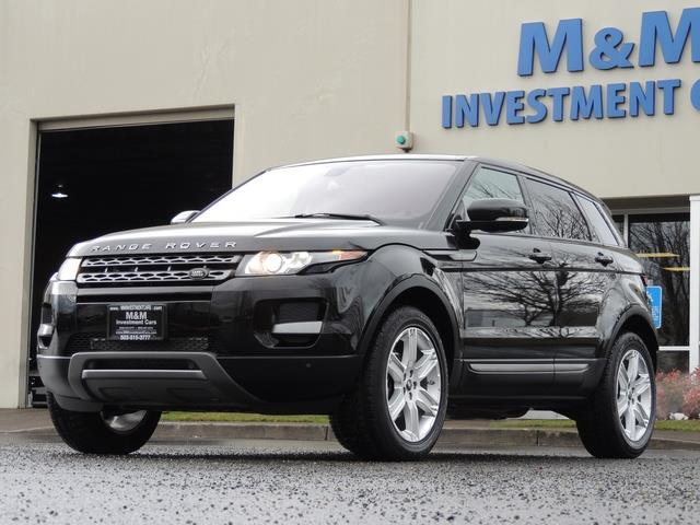 2013 Land Rover Evoque Pure / AWD / Navigation / backup camera / 1-Owner - Photo 44 - Portland, OR 97217
