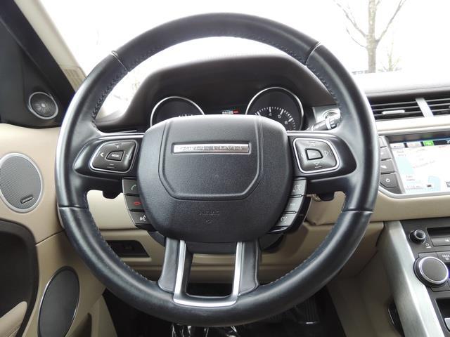 2013 Land Rover Evoque Pure / AWD / Navigation / backup camera / 1-Owner - Photo 37 - Portland, OR 97217