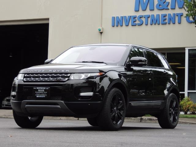 2013 Land Rover Evoque Pure / AWD / Navigation / backup camera / 1-Owner - Photo 35 - Portland, OR 97217
