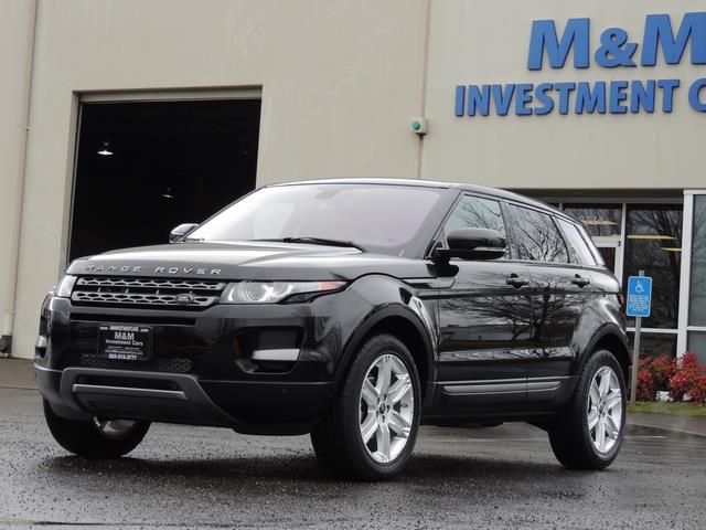 2013 Land Rover Evoque Pure / AWD / Navigation / backup camera / 1-Owner - Photo 45 - Portland, OR 97217