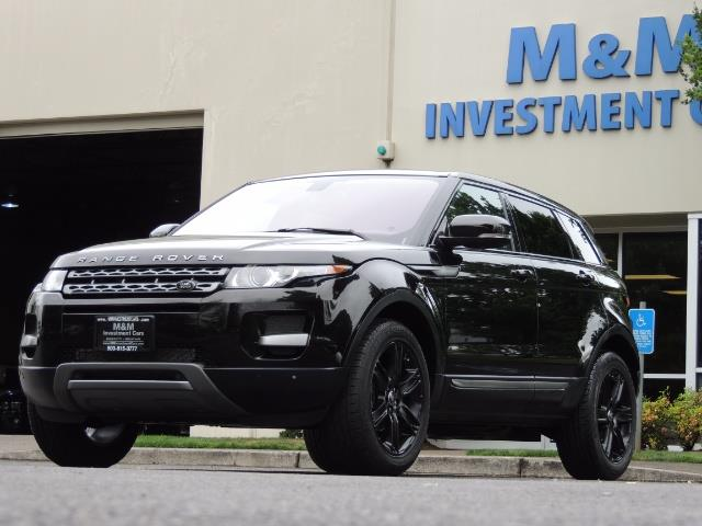 2013 Land Rover Evoque Pure / AWD / Navigation / backup camera / 1-Owner - Photo 34 - Portland, OR 97217