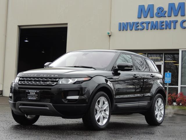 2013 Land Rover Evoque Pure / AWD / Navigation / backup camera / 1-Owner - Photo 46 - Portland, OR 97217