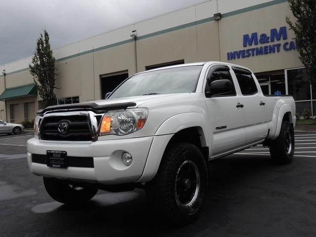 2008 toyota tacoma v6 sr5 crew cab 4x4 long bed excel cond. Black Bedroom Furniture Sets. Home Design Ideas