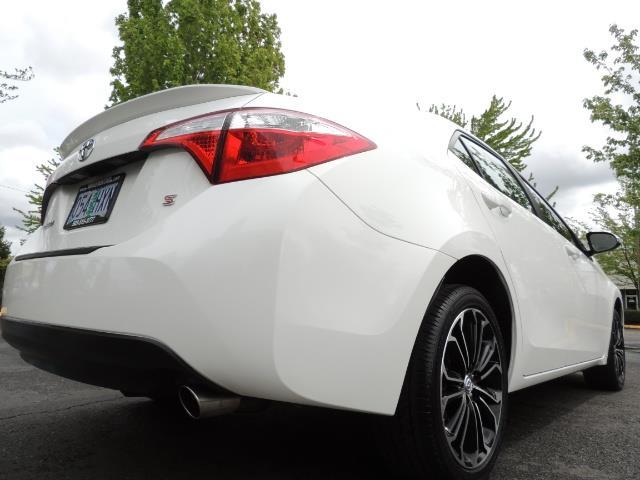 2016 Toyota Corolla S Plus / Sedan / Sunroof / Backup Camera / Spoiler - Photo 12 - Portland, OR 97217