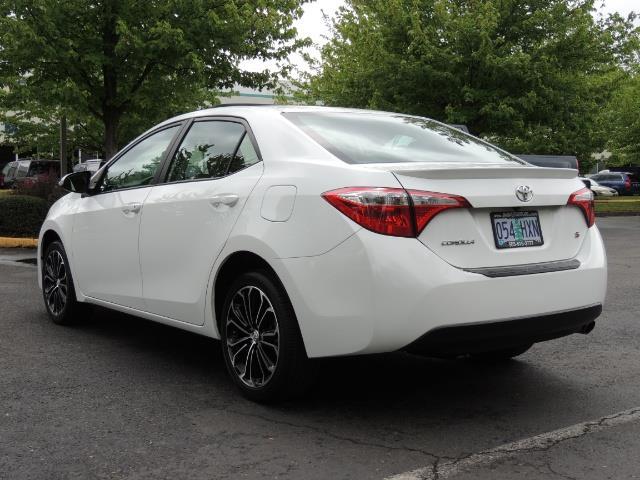 2016 Toyota Corolla S Plus / Sedan / Sunroof / Backup Camera / Spoiler - Photo 7 - Portland, OR 97217
