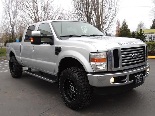 2010 ford f 250 super duty lariat 4x4 6 4l diesel lifted. Black Bedroom Furniture Sets. Home Design Ideas