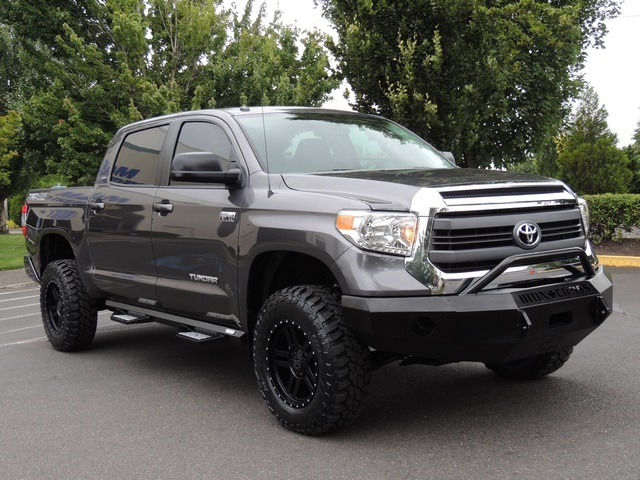 2015 Toyota Tundra TRD Pro / 4X4 / 5.7L / LIFTED LIFTED