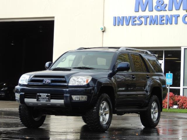 2004 toyota 4runner sport edition 4wd diff lock 1 owner lifted. Black Bedroom Furniture Sets. Home Design Ideas