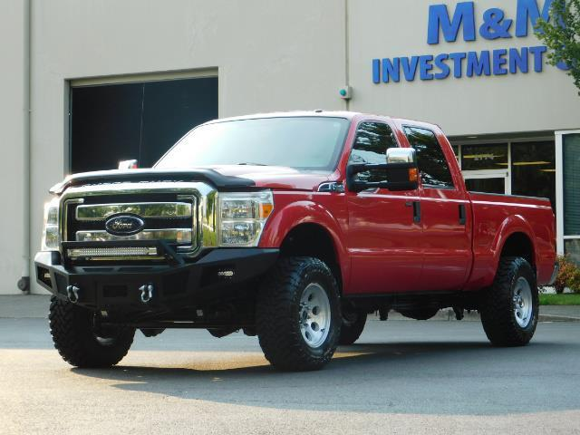 2012 Ford F-250 Super Duty XLT / 4X4 / 6.7L DIESEL / LIFTED - Photo 1 - Portland, OR 97217