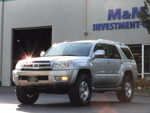 2004 Toyota 4Runner LIMITED Edition 4WD / V8 4.7L / DIFF LOCK / LIFTED - Photo 44 - Portland, OR 97217