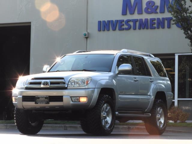 2004 Toyota 4Runner LIMITED Edition 4WD / V8 4.7L / DIFF LOCK / LIFTED - Photo 45 - Portland, OR 97217