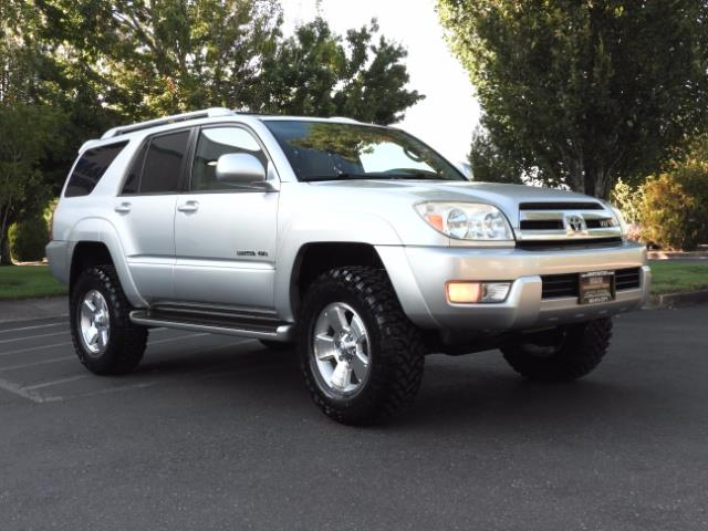 2004 Toyota 4Runner LIMITED Edition 4WD / V8 4.7L / DIFF LOCK / LIFTED - Photo 2 - Portland, OR 97217