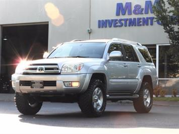 2004 Toyota 4Runner LIMITED Edition 4WD / V8 4.7L / DIFF LOCK / LIFTED SUV