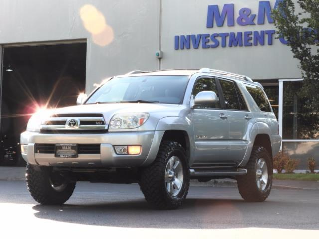 2004 Toyota 4Runner LIMITED Edition 4WD / V8 4.7L / DIFF LOCK / LIFTED - Photo 1 - Portland, OR 97217