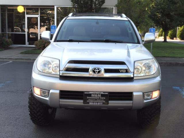 2004 Toyota 4Runner LIMITED Edition 4WD / V8 4.7L / DIFF LOCK / LIFTED - Photo 5 - Portland, OR 97217