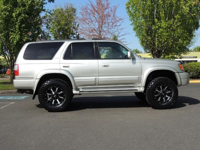 2000 Toyota 4Runner Limited / 4WD / Leather / Rear Diff Lock / LIFTED - Photo 4 - Portland, OR 97217