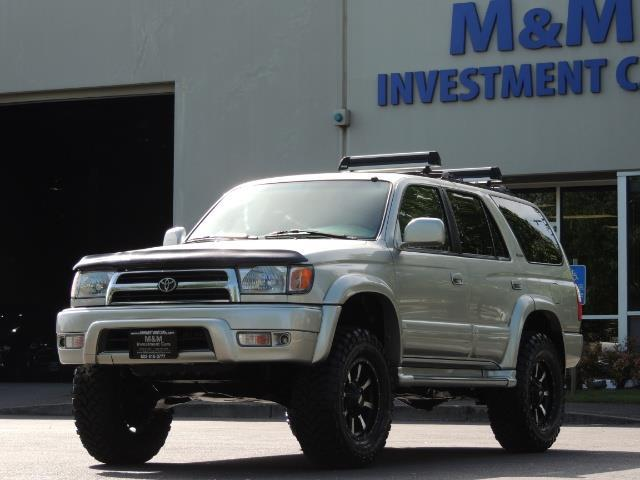 2000 Toyota 4Runner Limited / 4WD / Leather / Rear Diff Lock / LIFTED - Photo 48 - Portland, OR 97217