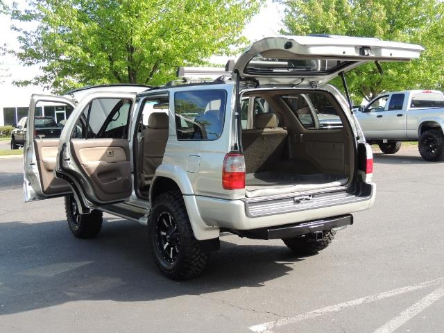 2000 Toyota 4Runner Limited / 4WD / Leather / Rear Diff Lock / LIFTED - Photo 27 - Portland, OR 97217