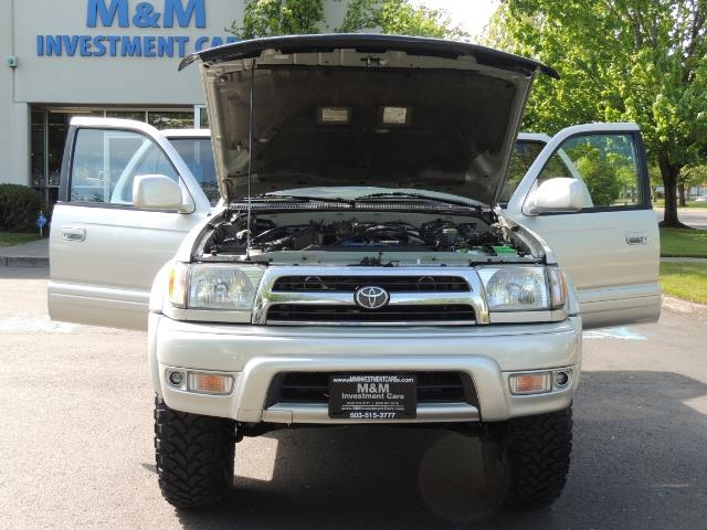 2000 Toyota 4Runner Limited / 4WD / Leather / Rear Diff Lock / LIFTED - Photo 32 - Portland, OR 97217