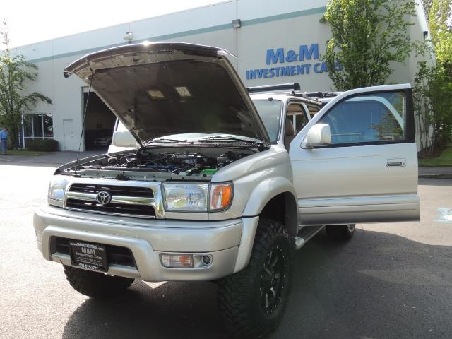 2000 Toyota 4Runner Limited / 4WD / Leather / Rear Diff Lock / LIFTED - Photo 25 - Portland, OR 97217