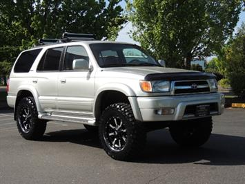 2000 Toyota 4Runner Limited / 4WD / Leather / Rear Diff Lock / LIFTED SUV