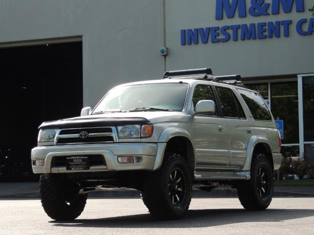 2000 Toyota 4Runner Limited / 4WD / Leather / Rear Diff Lock / LIFTED - Photo 1 - Portland, OR 97217