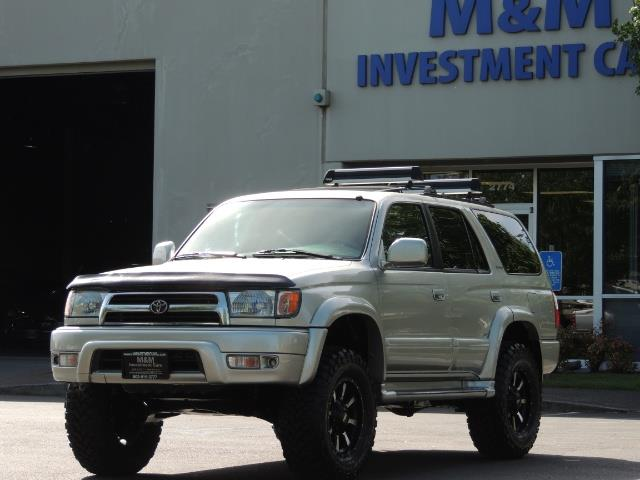 2000 Toyota 4Runner Limited / 4WD / Leather / Rear Diff Lock / LIFTED - Photo 35 - Portland, OR 97217