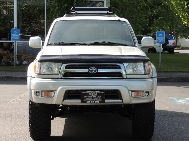 2000 Toyota 4Runner Limited / 4WD / Leather / Rear Diff Lock / LIFTED - Photo 5 - Portland, OR 97217