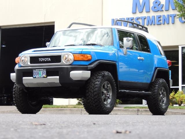 2007 Toyota FJ Cruiser 4dr SUV / 4X4 / REAR DIFF LOCKS / LIFTED LIFTED - Photo 38 - Portland, OR 97217