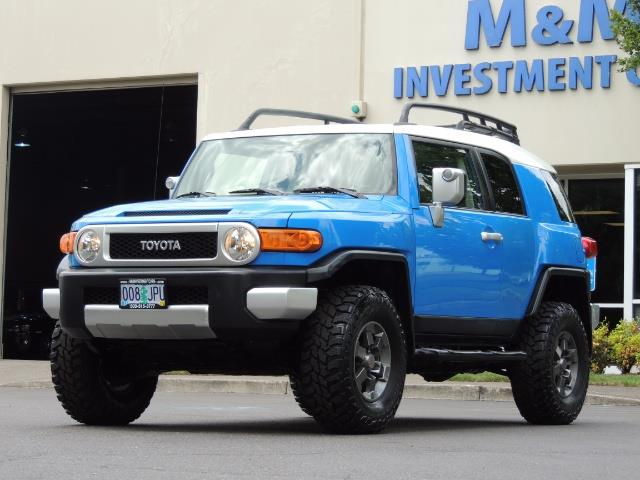 2007 Toyota FJ Cruiser 4dr SUV / 4X4 / REAR DIFF LOCKS / LIFTED LIFTED - Photo 34 - Portland, OR 97217
