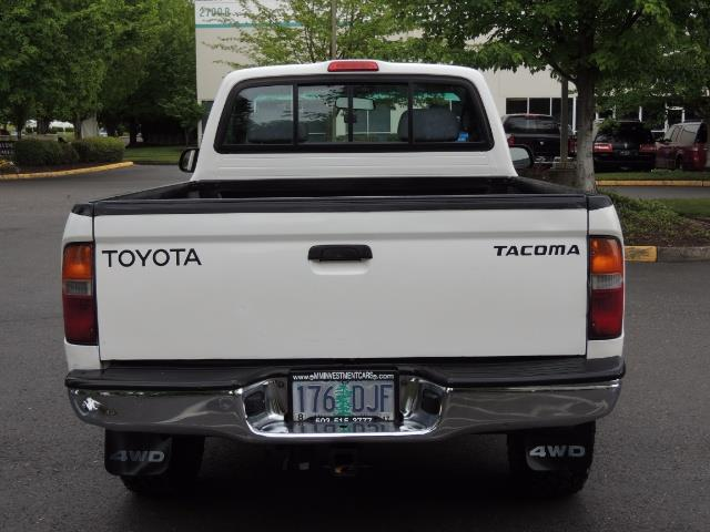 "2000 Toyota Tacoma 2dr 4WD 5Spd Manual / New 31 "" Mud Tires - Photo 7 - Portland, OR 97217"