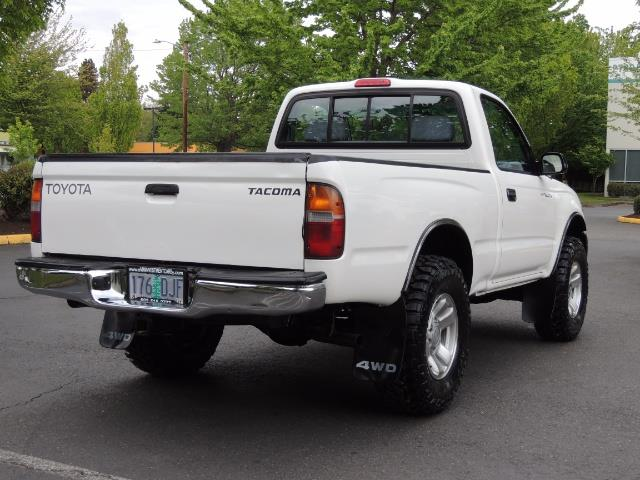 "2000 Toyota Tacoma 2dr 4WD 5Spd Manual / New 31 "" Mud Tires - Photo 8 - Portland, OR 97217"