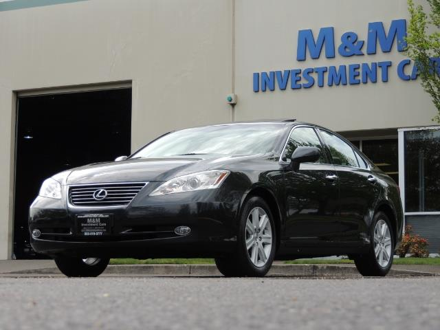2009 Lexus ES 350 / Luxury Sedan / Navigation / 1-OWNER/ 50K MLS - Photo 50 - Portland, OR 97217