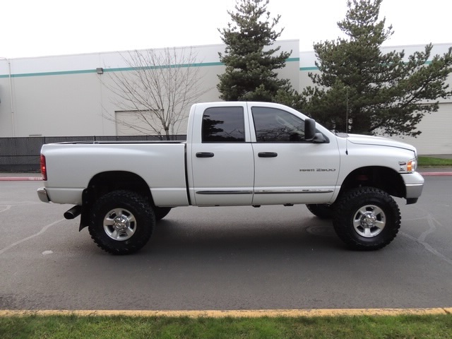 2005 dodge ram 2500 laramie4wd59l ho cummins diesel6 - White Dodge Ram Cummins Lifted