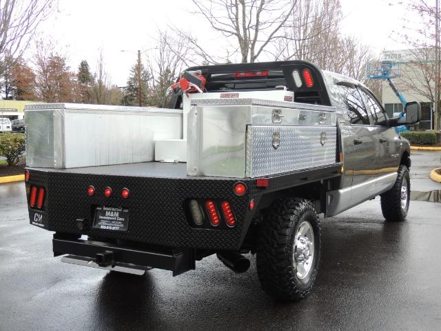 2006 Dodge Ram 2500 SLT 4dr Mega Cab / 4X4 / 5.9L DIESEL / FLAT BED - Photo 8 - Portland, OR 97217