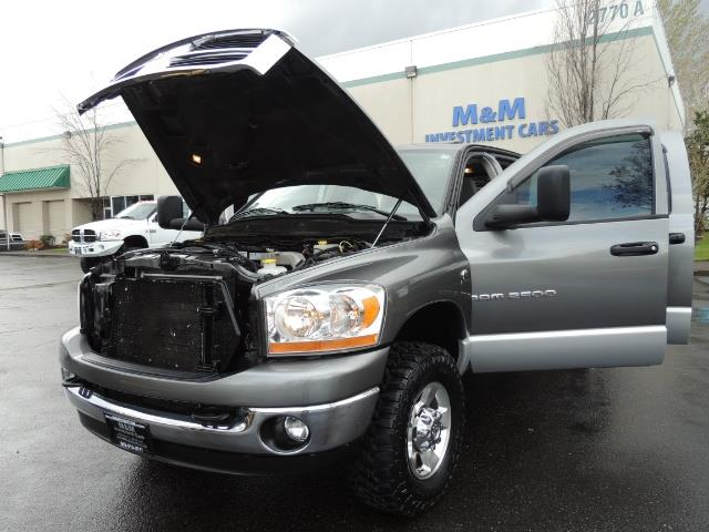 2006 Dodge Ram 2500 SLT 4dr Mega Cab / 4X4 / 5.9L DIESEL / FLAT BED - Photo 25 - Portland, OR 97217