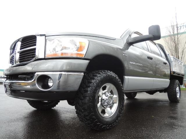 2006 Dodge Ram 2500 SLT 4dr Mega Cab / 4X4 / 5.9L DIESEL / FLAT BED - Photo 45 - Portland, OR 97217