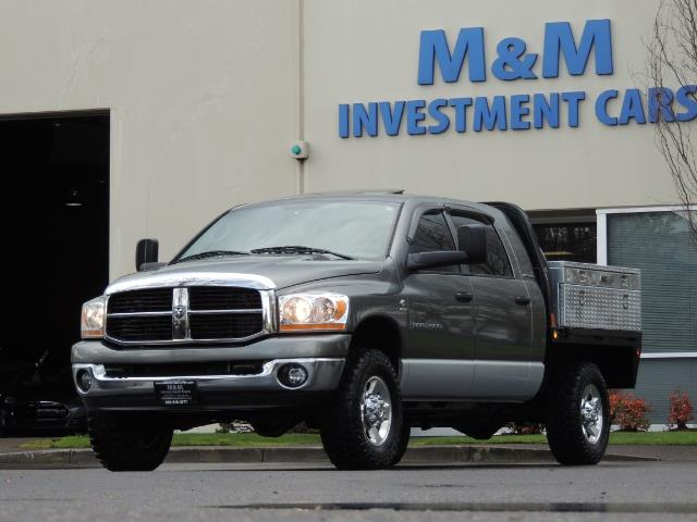 2006 Dodge Ram 2500 SLT 4dr Mega Cab / 4X4 / 5.9L DIESEL / FLAT BED - Photo 32 - Portland, OR 97217