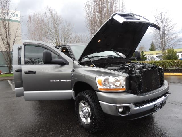 2006 Dodge Ram 2500 SLT 4dr Mega Cab / 4X4 / 5.9L DIESEL / FLAT BED - Photo 29 - Portland, OR 97217